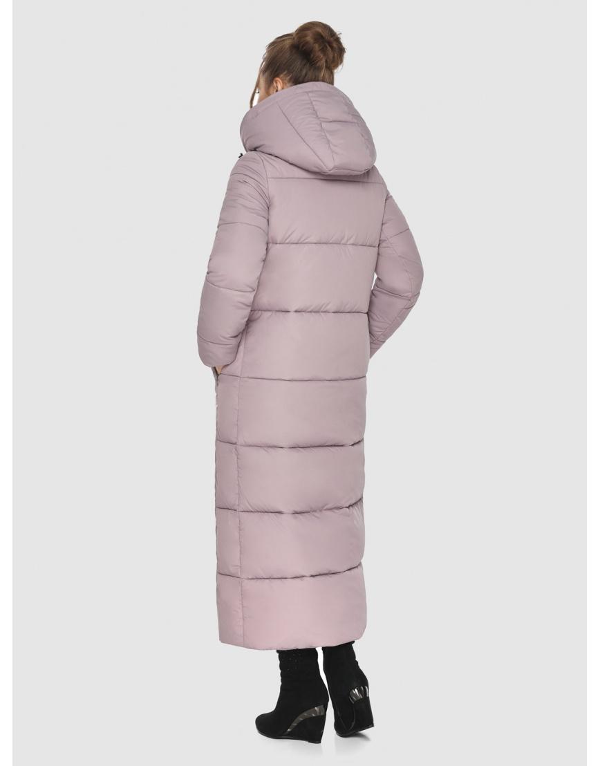 Трендовая женская куртка Ajento пудровая 21972 фото 4