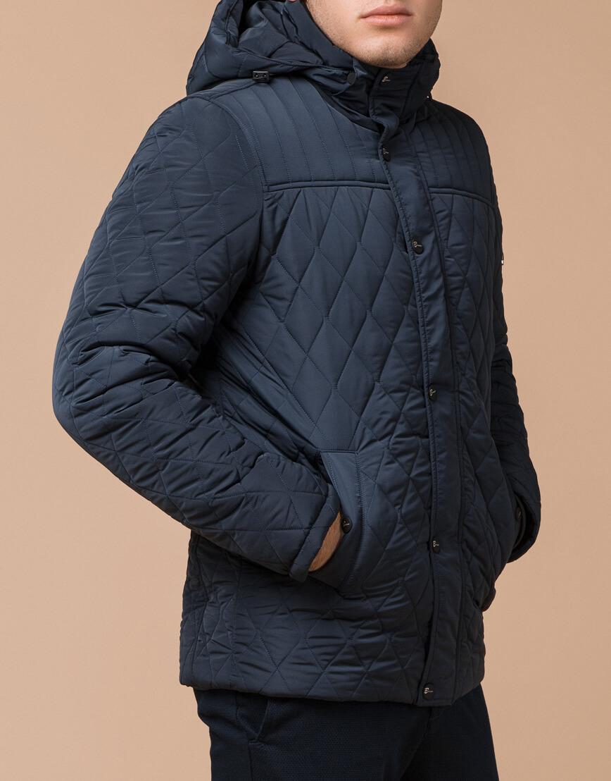 Светло-синяя брендовая куртка модель 24534 фото 2