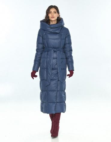 Женская синяя куртка Vivacana стильная 8706/21 фото 1