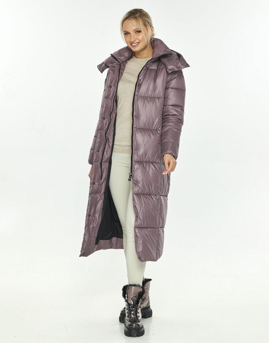 Пудровая куртка женская Kiro Tokao длинная 60052 фото 2