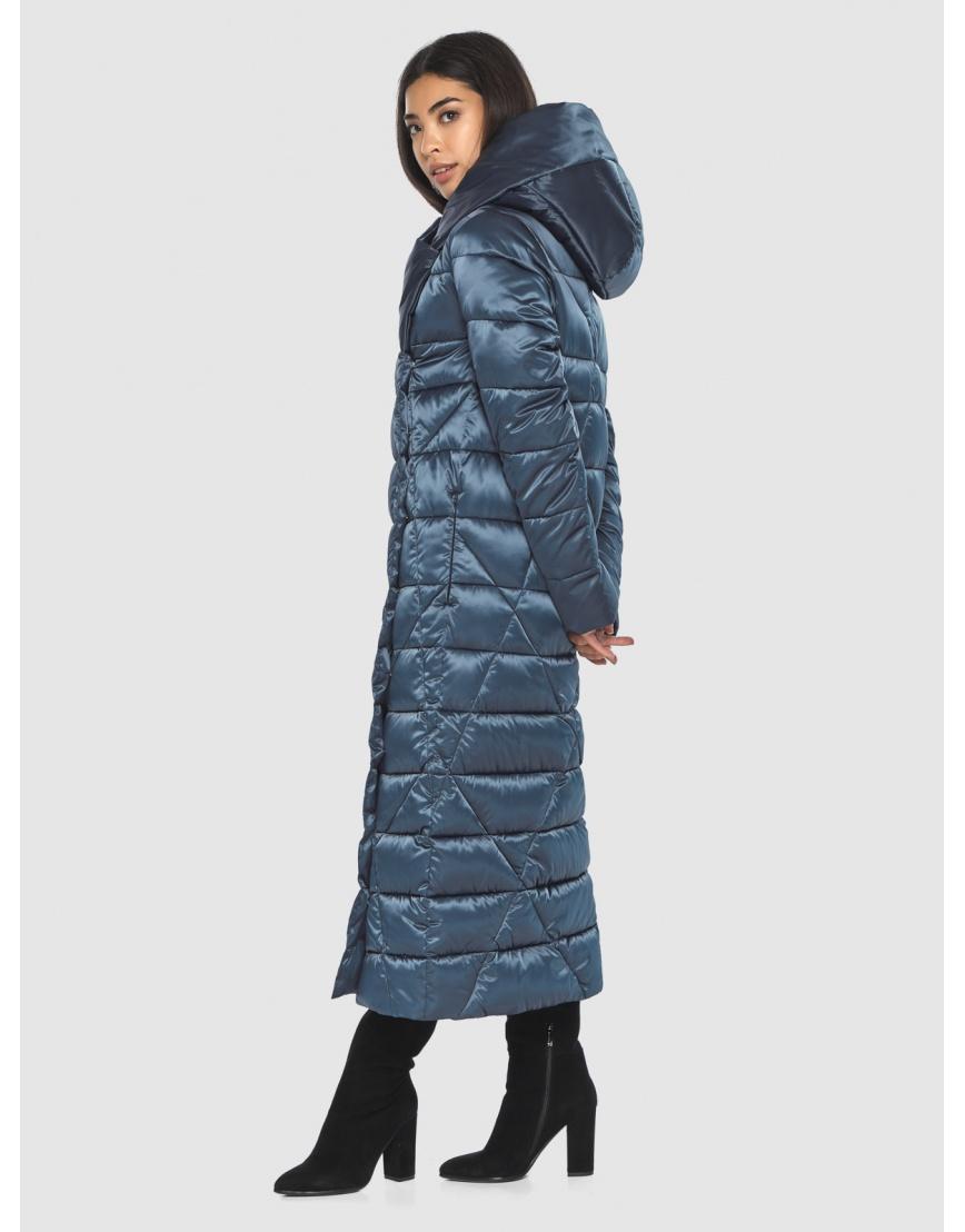 Брендовая куртка Moc женская цвет синий M6715 фото 2