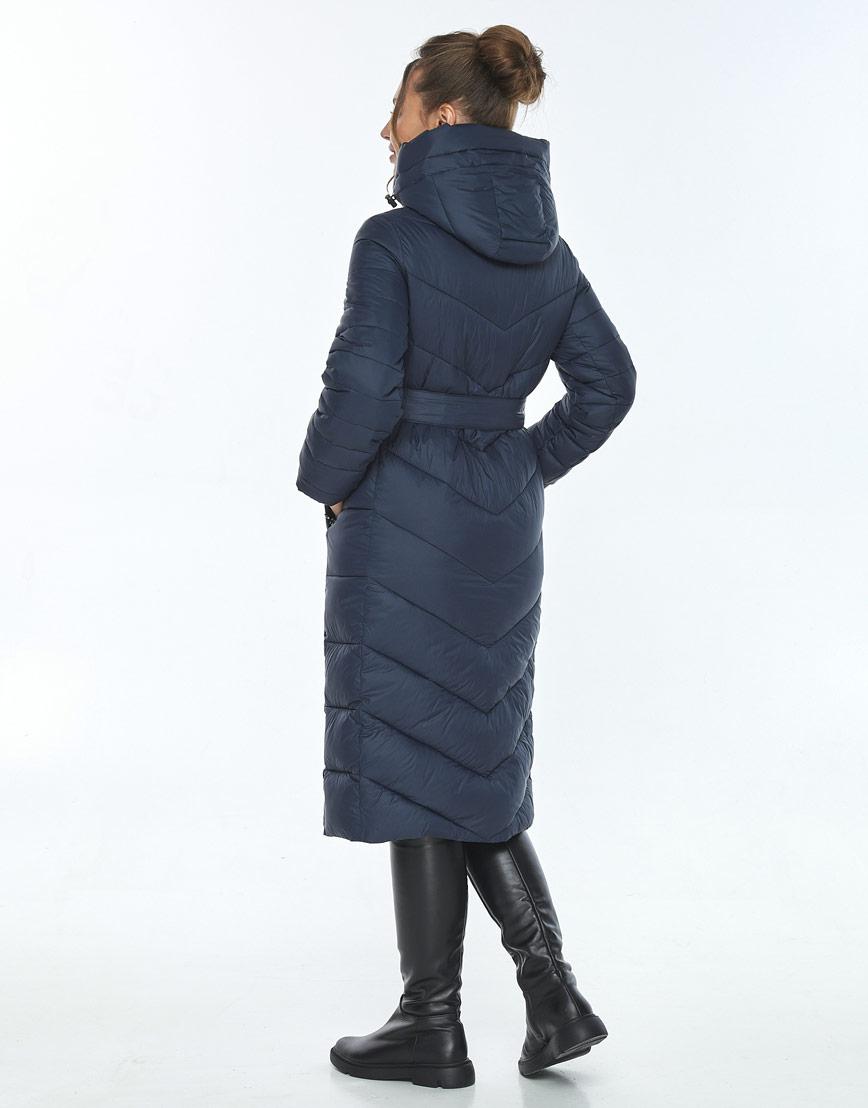 Куртка с карманами женская Ajento зимняя синяя 21152 фото 3