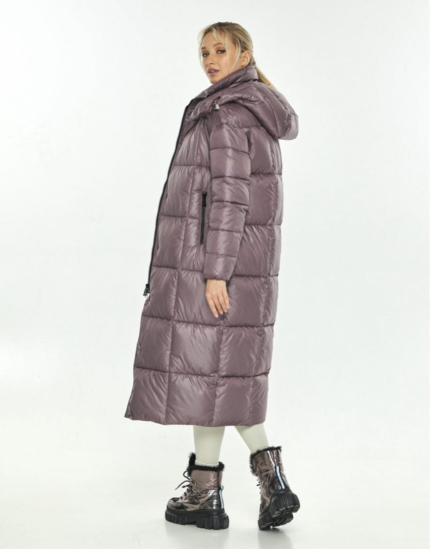 Пудровая куртка женская Kiro Tokao длинная 60052 фото 3
