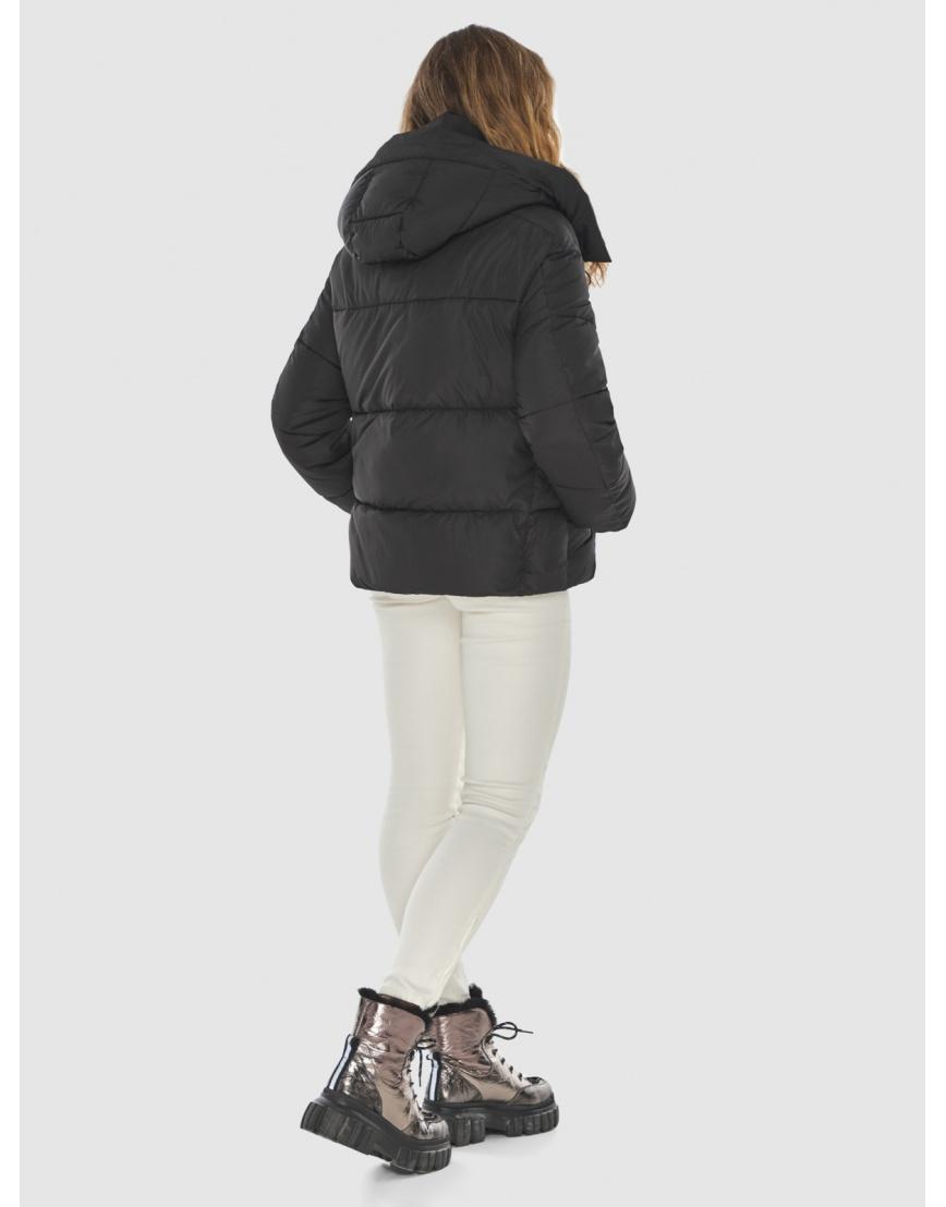 Чёрная куртка комфорная женская Kiro Tokao 60085 фото 4
