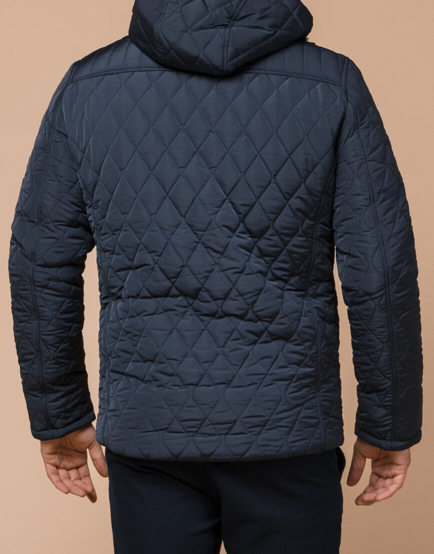 Светло-синяя брендовая куртка модель 24534 фото 3