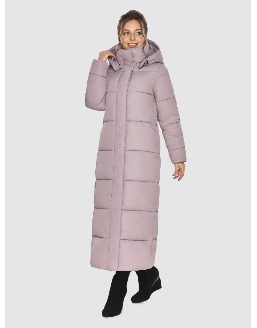 Трендовая женская куртка Ajento пудровая 21972 фото 3