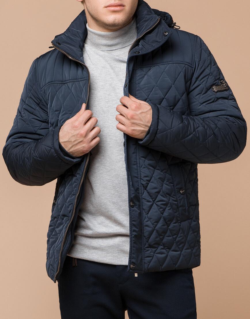 Светло-синяя брендовая куртка модель 24534 фото 1