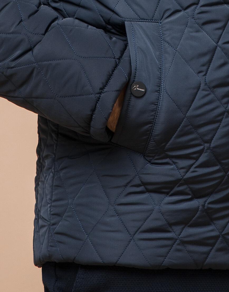 Светло-синяя брендовая куртка модель 24534 фото 5