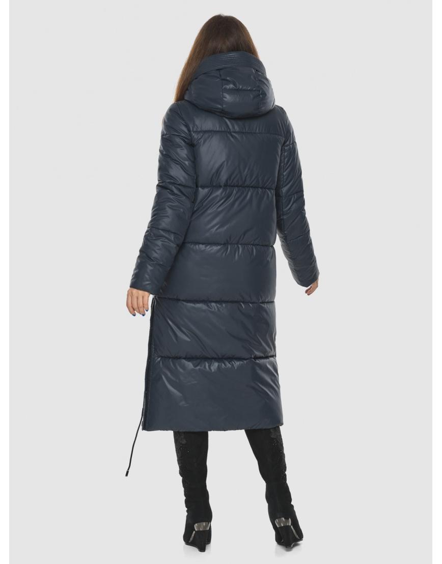 Трендовая синяя куртка подростковая Ajento женская для зимы 23160 фото 4
