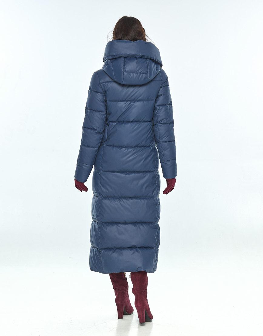 Женская синяя куртка Vivacana стильная 8706/21 фото 3