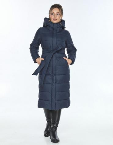 Куртка с карманами женская Ajento зимняя синяя 21152 фото 1