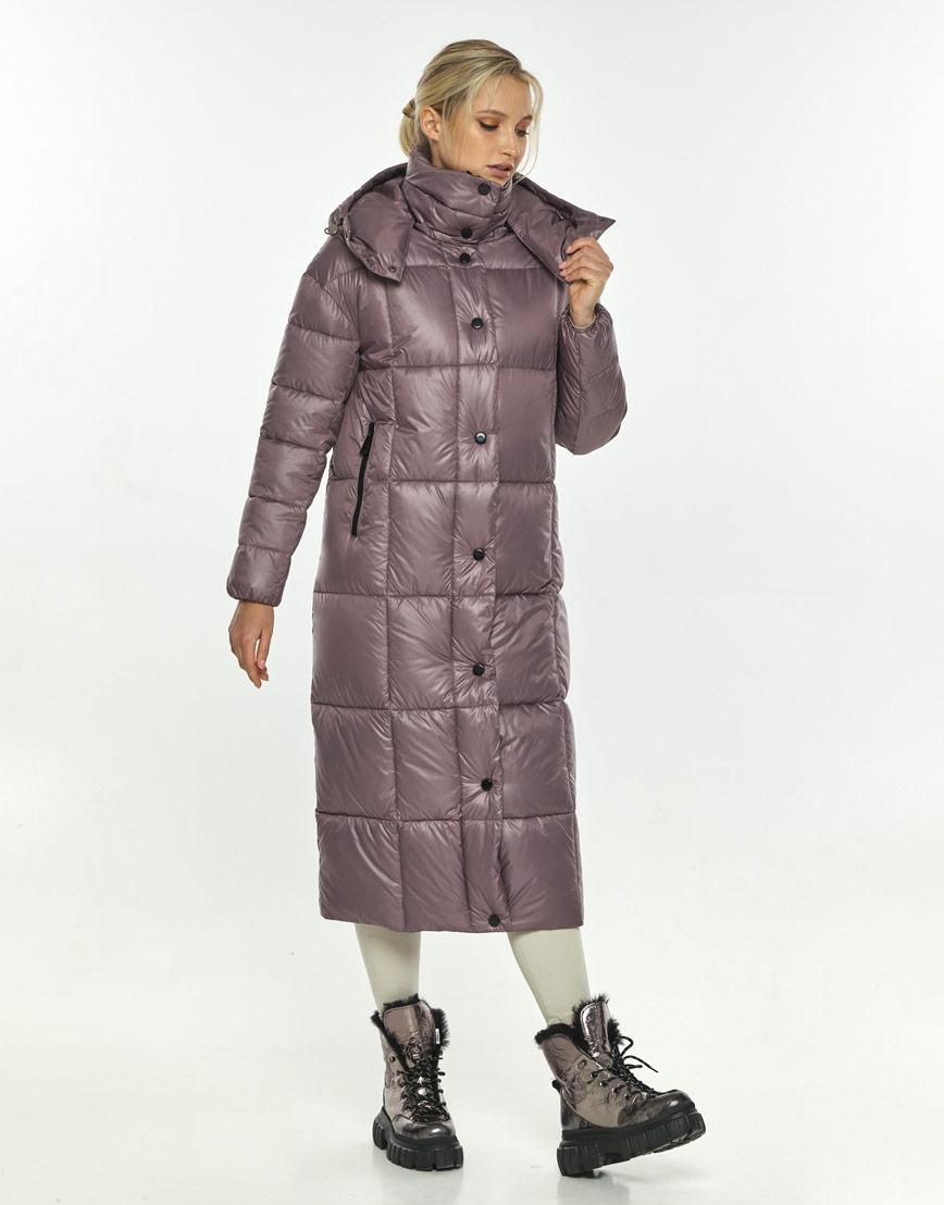 Пудровая куртка женская Kiro Tokao длинная 60052 фото 1