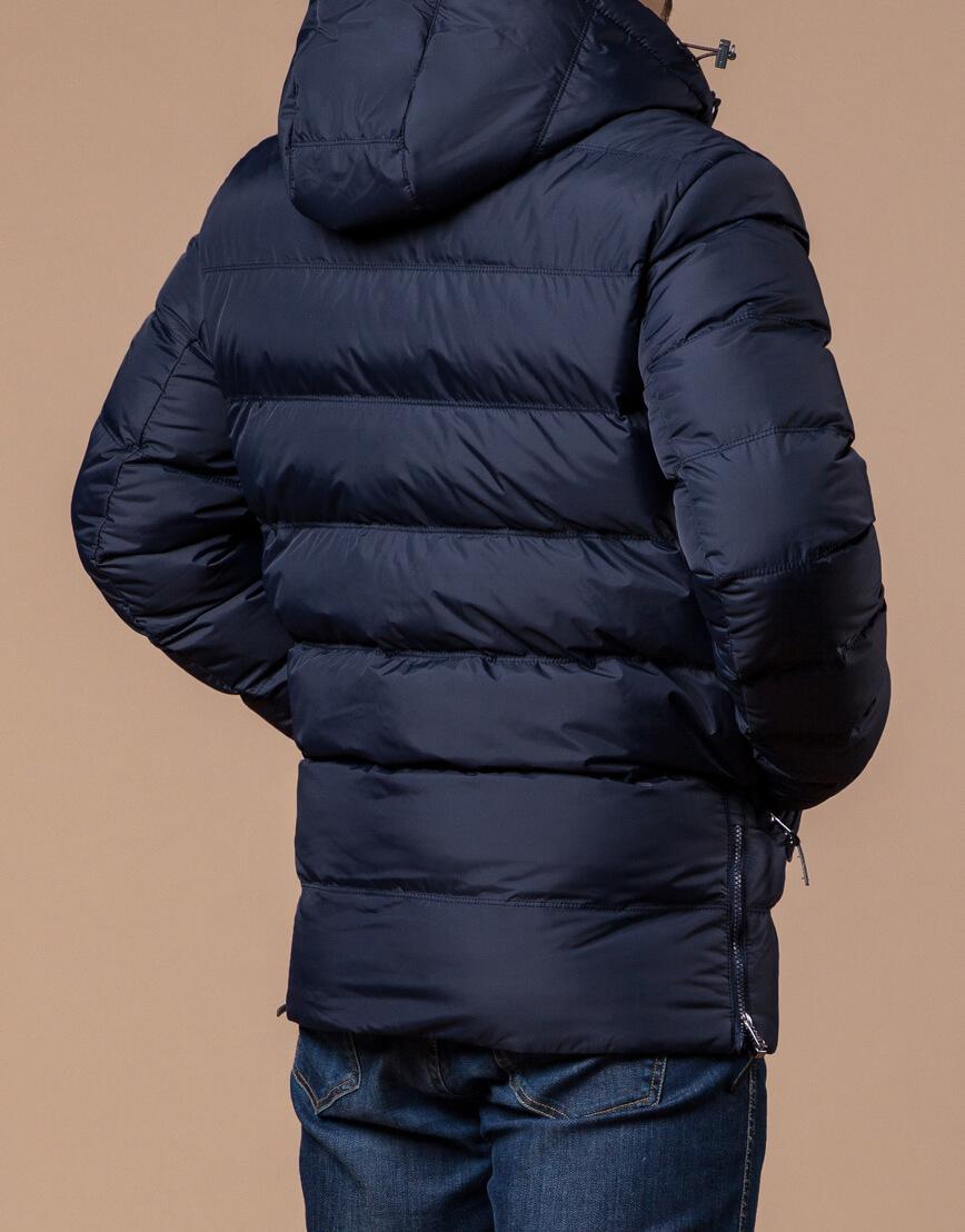 Темно-синяя мужская зимняя куртка модель 20180 оптом фото 3