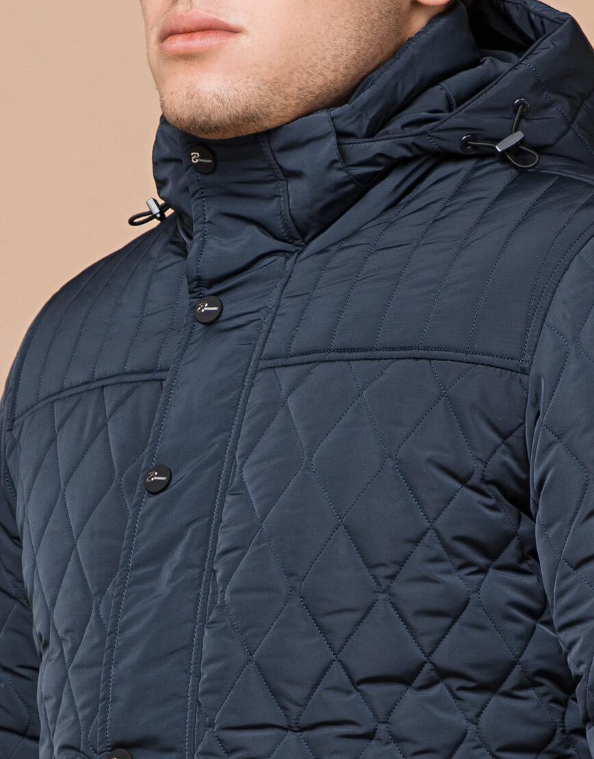 Светло-синяя брендовая куртка модель 24534 фото 4