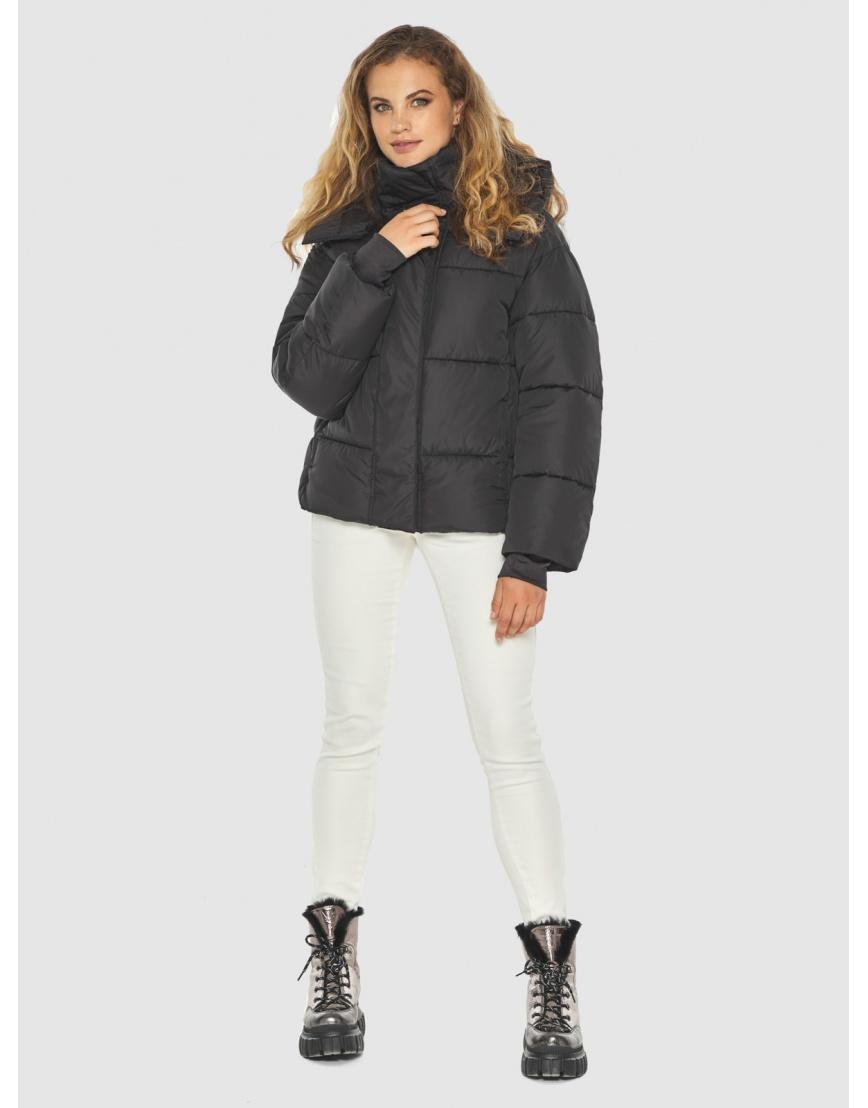 Чёрная куртка комфорная женская Kiro Tokao 60085 фото 1