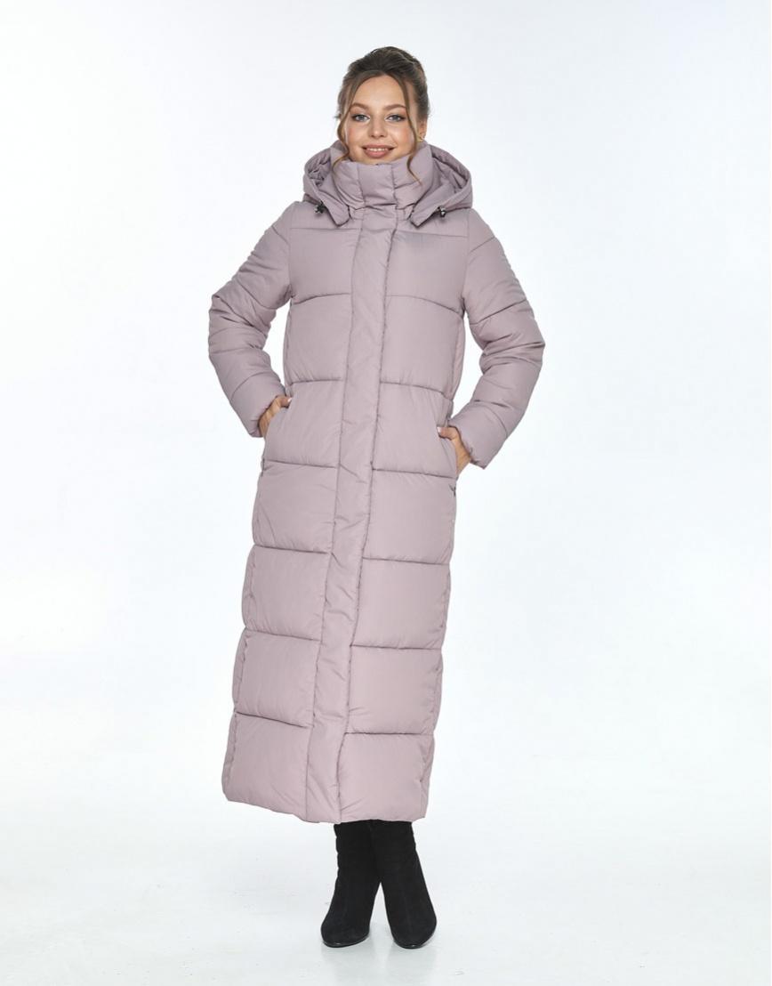 Комфортная пудровая куртка Ajento женская для зимы 21972 фото 1