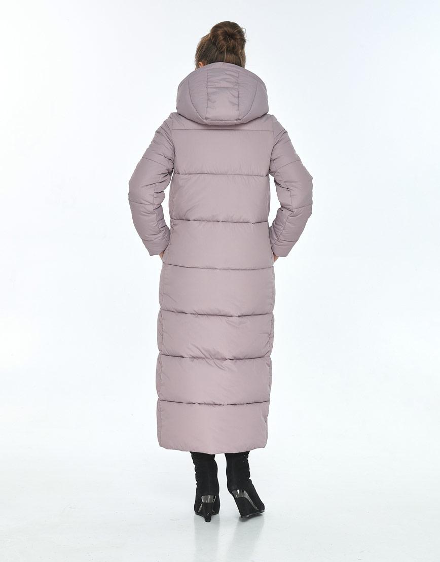 Комфортная пудровая куртка Ajento женская для зимы 21972 фото 3