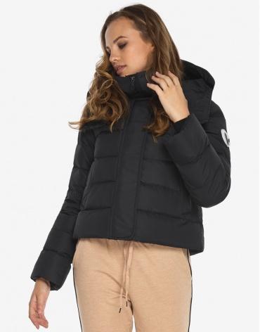 Куртка пуховик Youth зимний черный женский модель 21470 оптом фото 1