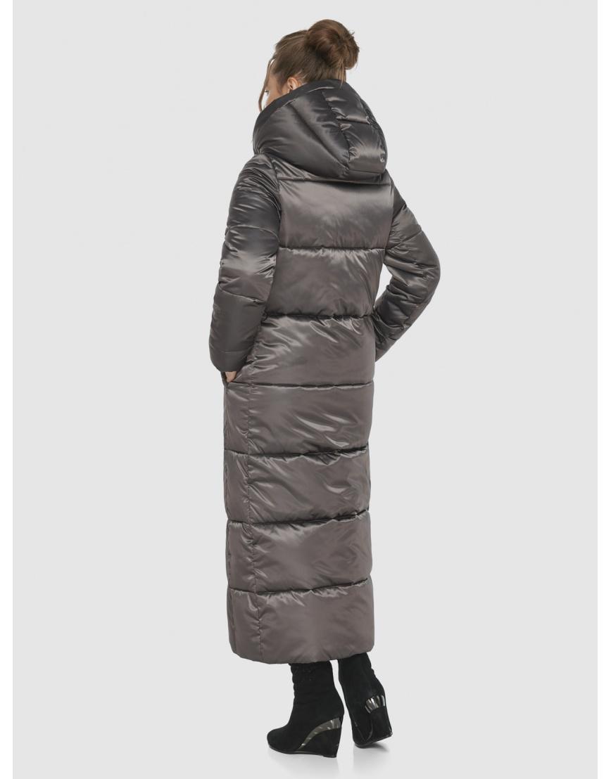 Практичная женская куртка Ajento капучиновая 21972 фото 4