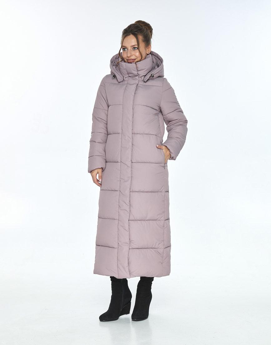 Комфортная пудровая куртка Ajento женская для зимы 21972 фото 2