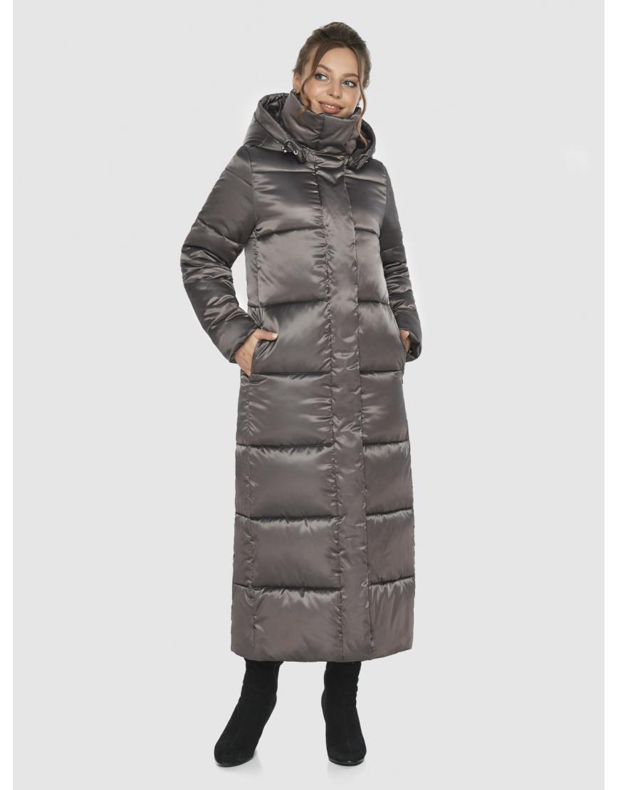 Практичная женская куртка Ajento капучиновая 21972 фото 1