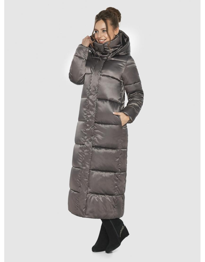 Практичная женская куртка Ajento капучиновая 21972 фото 3