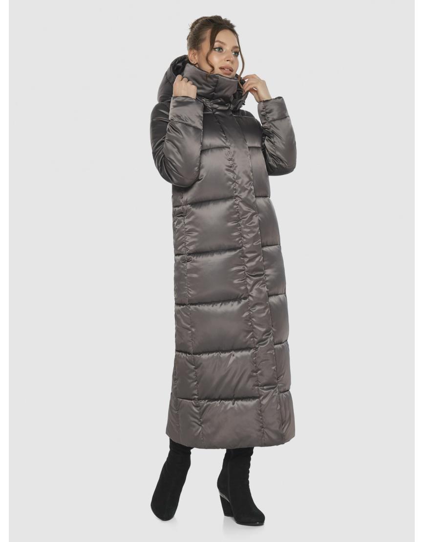 Практичная женская куртка Ajento капучиновая 21972 фото 5