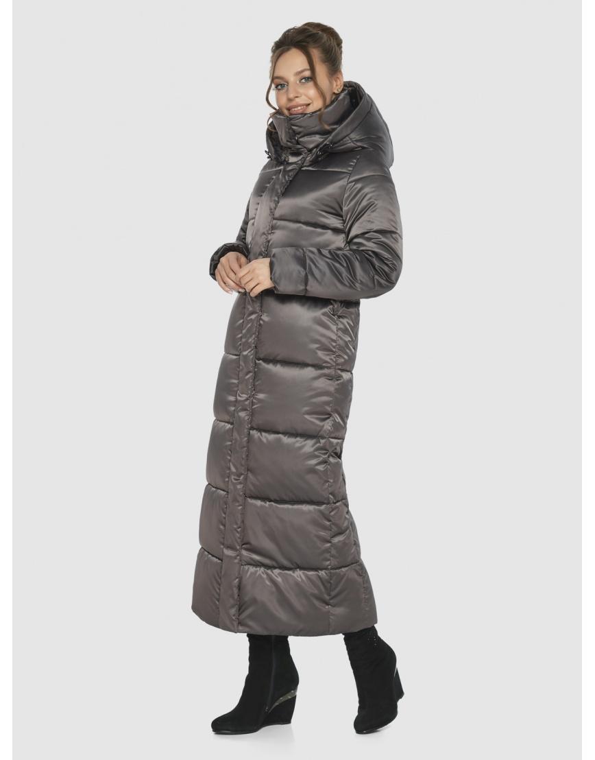 Практичная женская куртка Ajento капучиновая 21972 фото 2