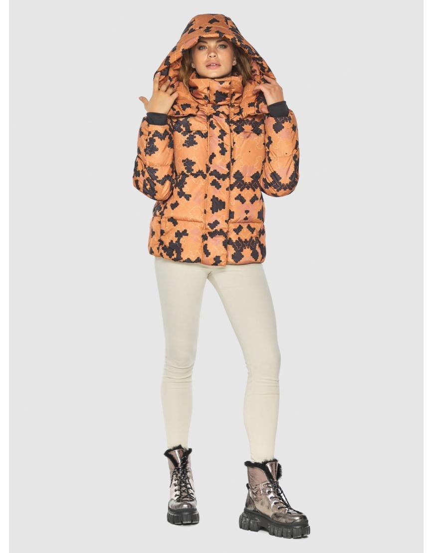 Куртка женская с рисунком брендовая Kiro Tokao 60085 фото 5