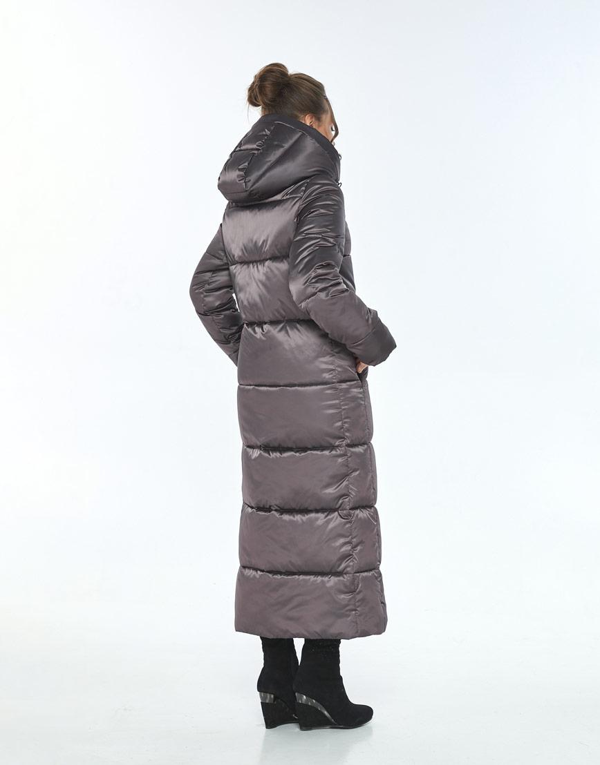 Женская зимняя куртка Ajento удобная капучиновая 21972 фото 3