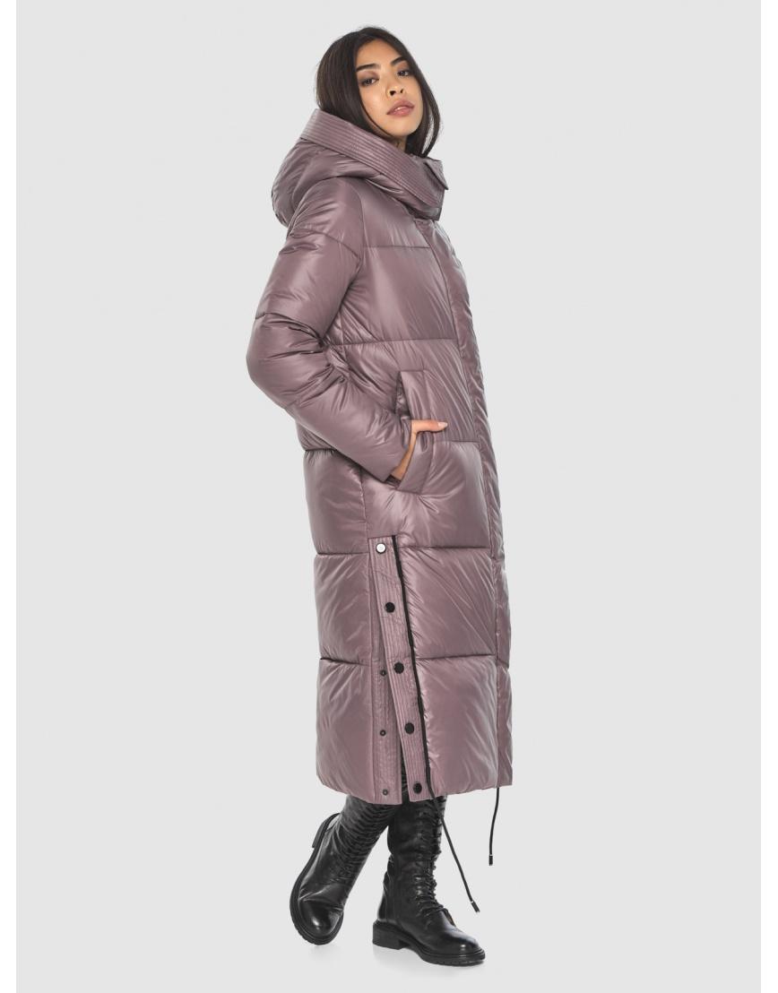 Зимняя куртка Moc пудровая женская M6874 фото 3