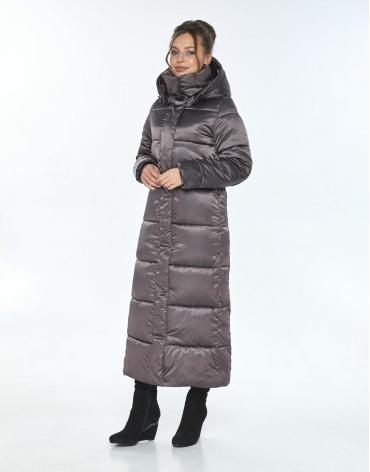 Женская зимняя куртка Ajento удобная капучиновая 21972 фото 1