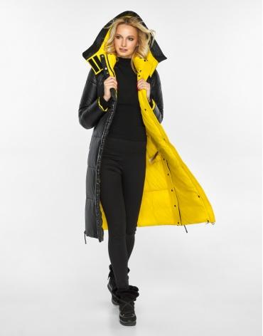Воздуховик Braggart женский на зиму цвет черный модель 42650 оптом