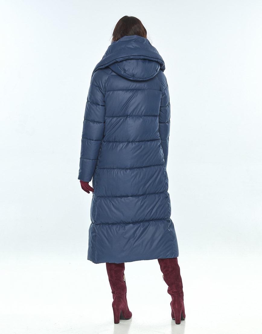 Куртка синего цвета женская Vivacana 9150/21 фото 3