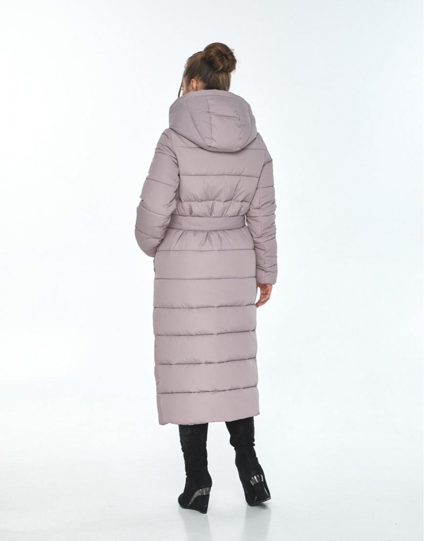Зимняя пудровая куртка Ajento удобная женская 21207 фото 3