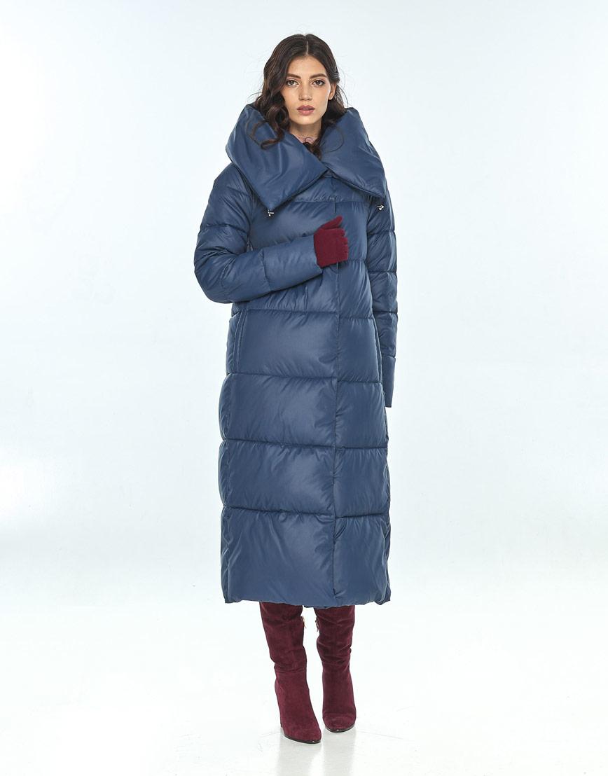 Куртка синего цвета женская Vivacana 9150/21 фото 1