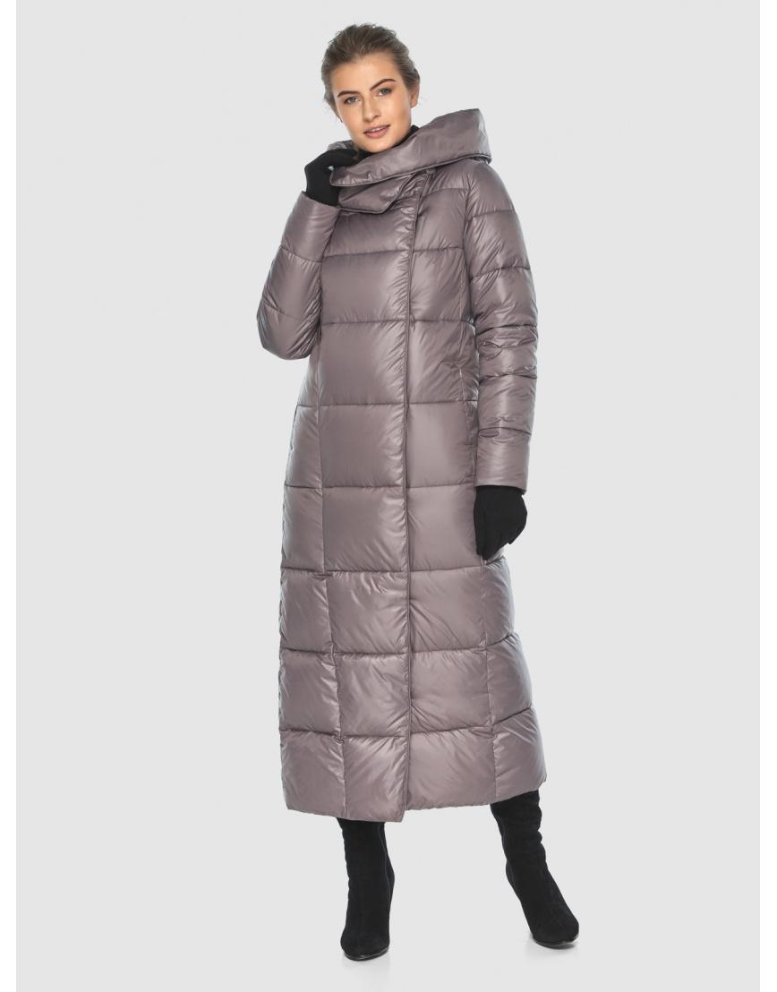 Женская пудровая модная куртка Ajento 22356 фото 2