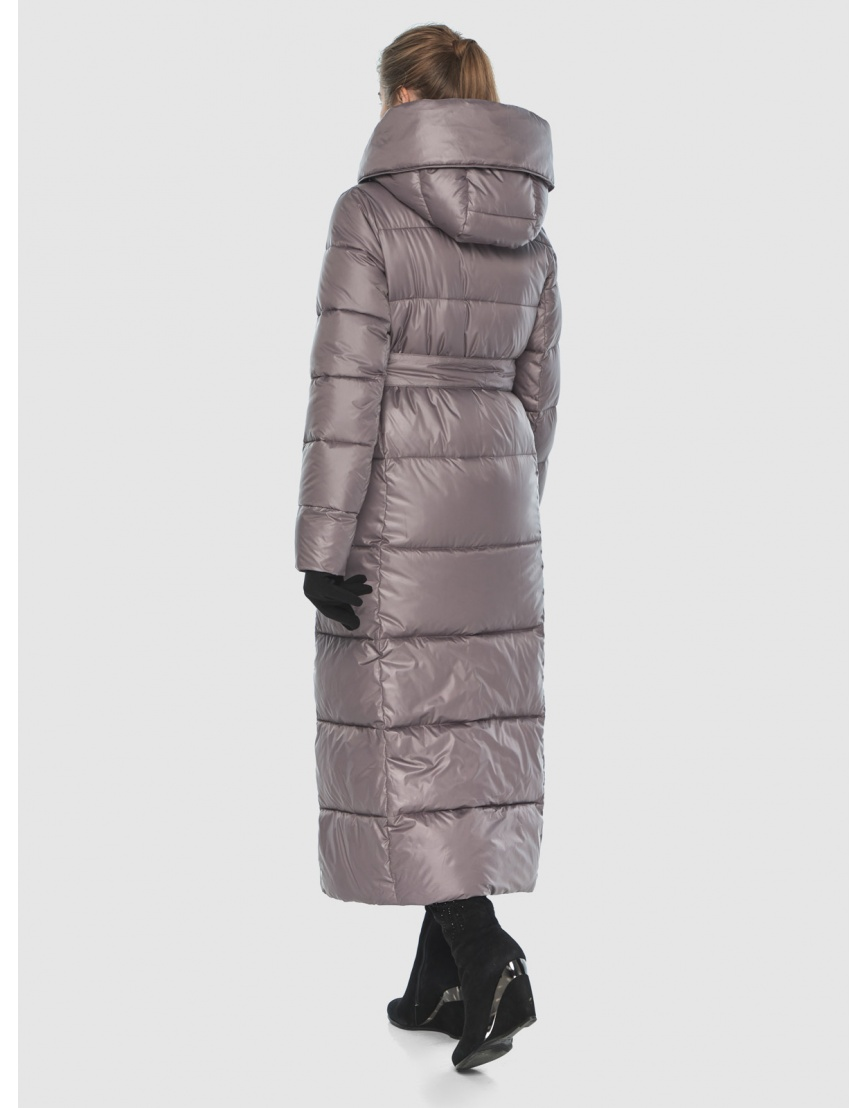Женская пудровая модная куртка Ajento 22356 фото 4
