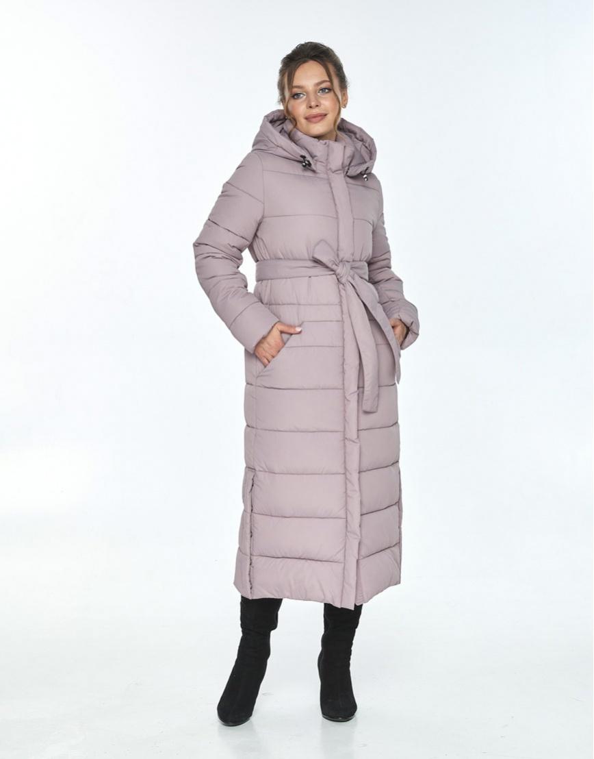 Зимняя пудровая куртка Ajento удобная женская 21207 фото 2