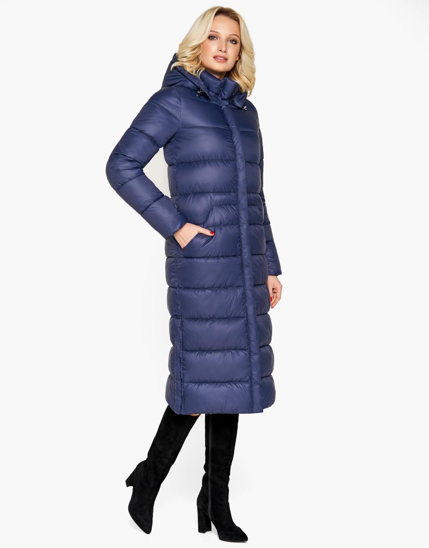 Воздуховик Braggart зимний качественный женский цвет синий модель 31007 оптом