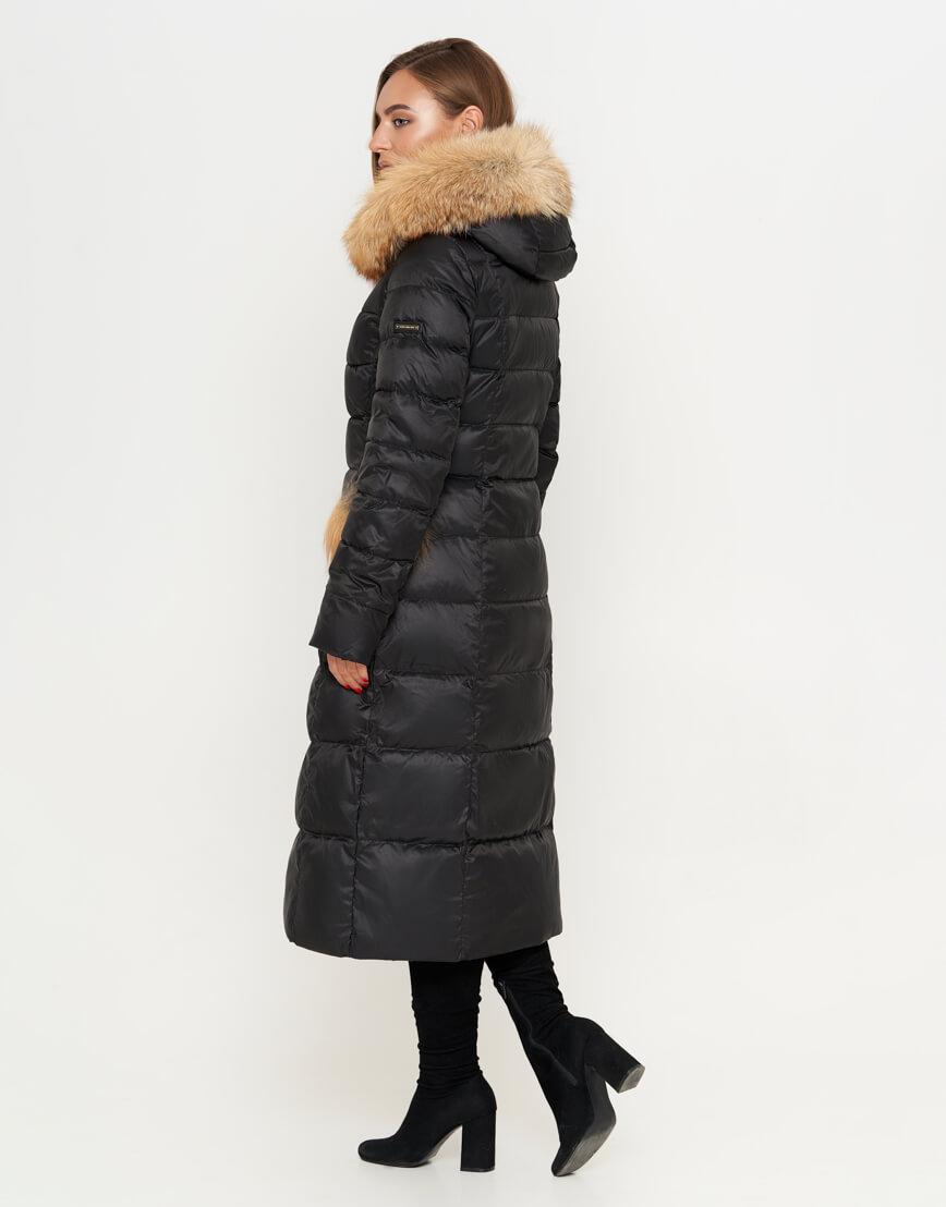 Комфортная куртка черного цвета женская модель 917