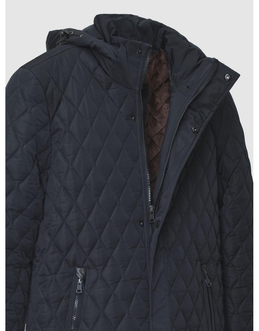 52 (XL) – последний размер – куртка стёганая Braggart синяя мужская для зимы 200012 фото 3