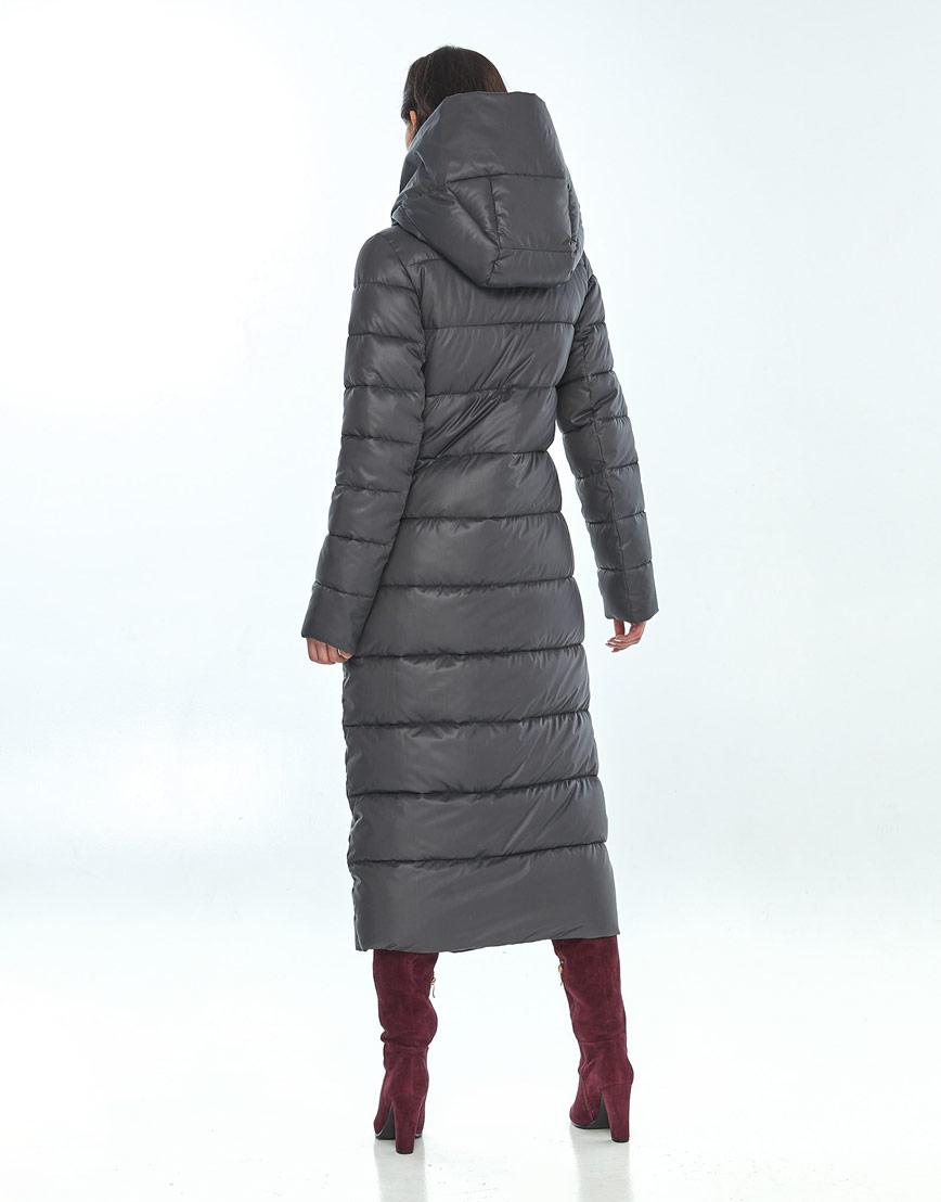 Женская серая куртка Vivacana удобная 9405/21 фото 3