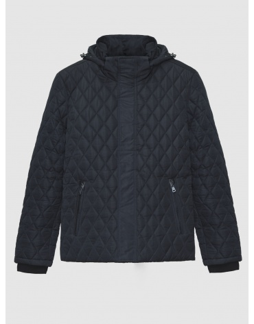 52 (XL) – последний размер – куртка стёганая Braggart синяя мужская для зимы 200012 фото 1