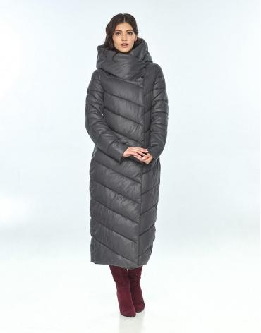 Женская серая куртка Vivacana удобная 9405/21 фото 1