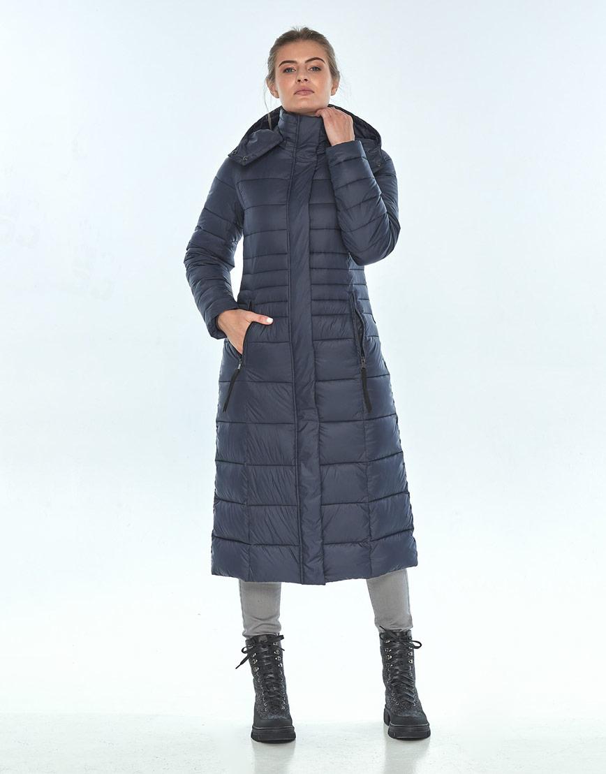 Зимняя женская куртка модная Ajento синяя 21375 фото 1