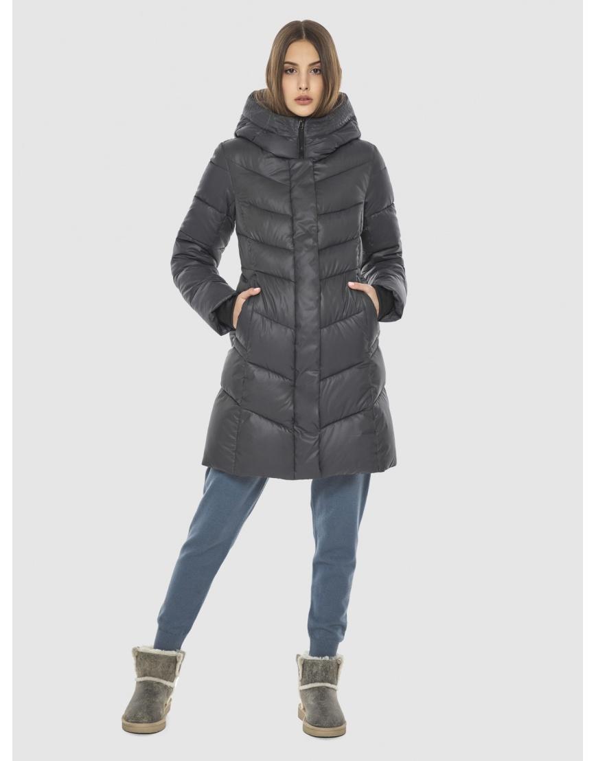 Стёганая куртка Vivacana серая для подростка 7821/21 фото 1