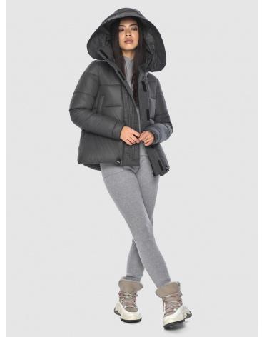 Серая женская удобная куртка Moc M6981 фото 1