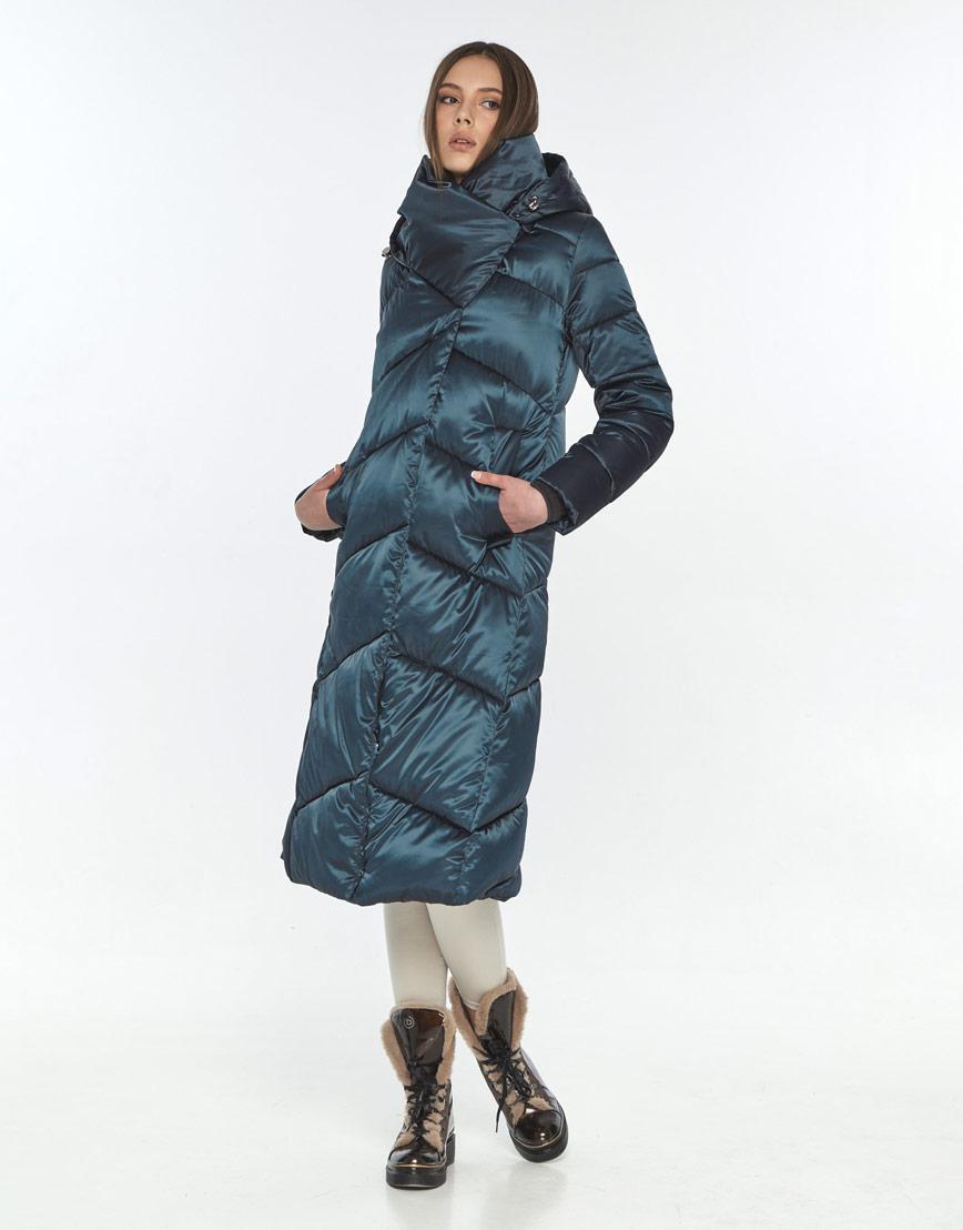 Куртка зелёная женская Wild Club трендовая 514-35 фото 1