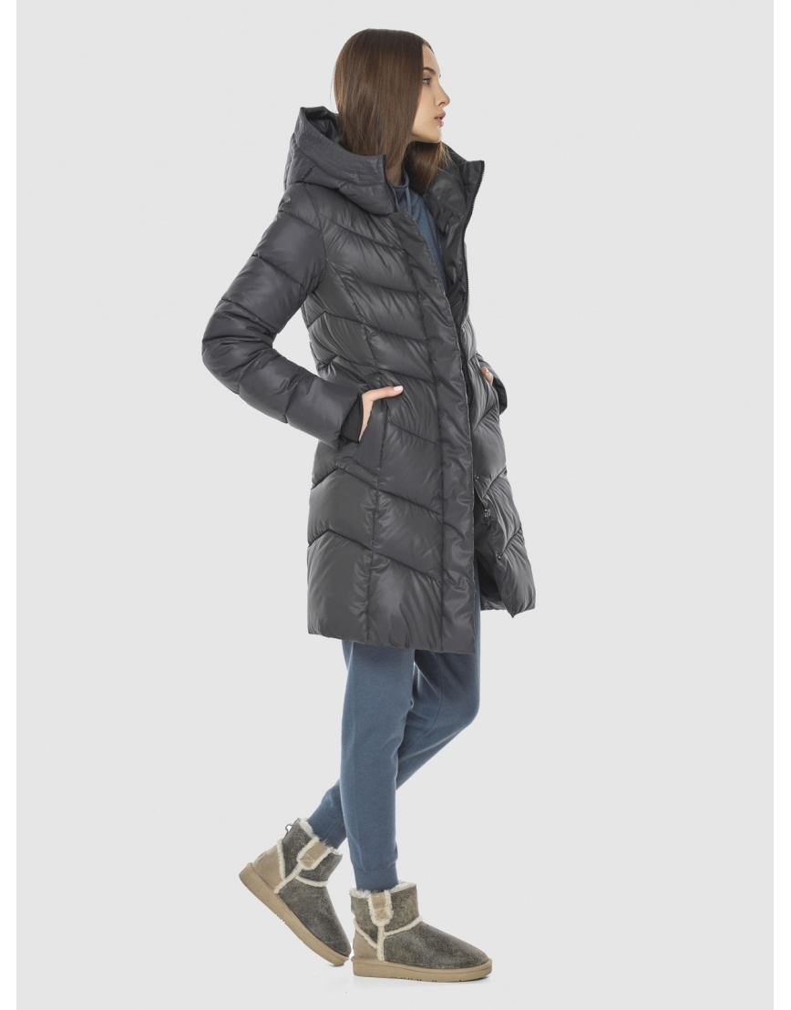 Стёганая куртка Vivacana серая для подростка 7821/21 фото 5